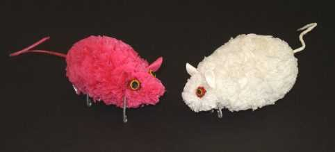 Mice recycled plastic